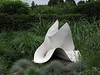 Dorado 01<br /> <br /> 'Dorado' by Jack Youngerman, metal sculpture at the Toledo Botanical Gardens.