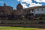 D137-2009  Qurikancha (remnant Incan temple) and the Church and Convent of Santo Domingo.
