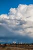 Smoke vs clouds.  Meadowlark Prairie, Eugene