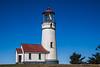 Pretty as a Postcard.  Cape Blanco Lighthouse with cedars